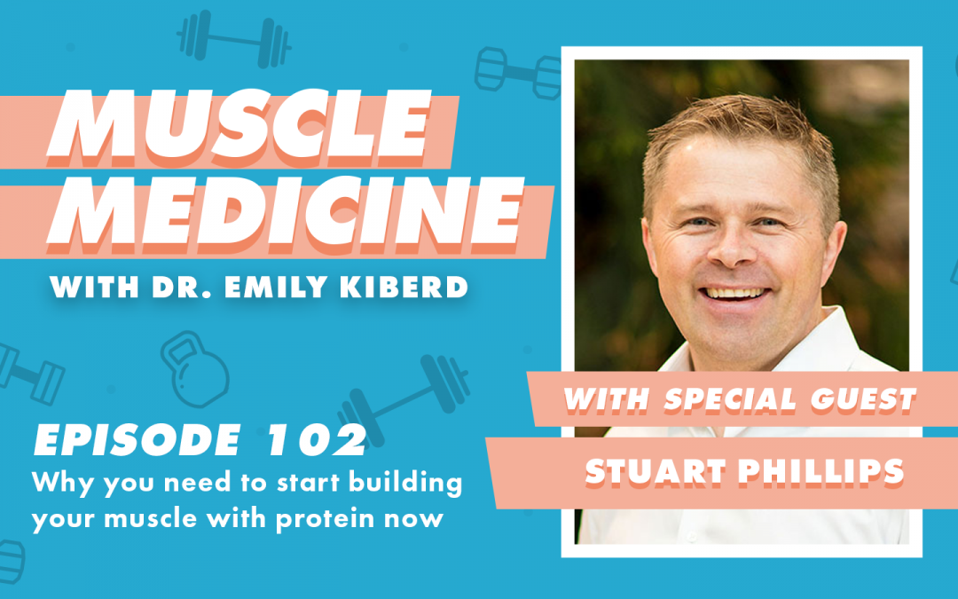 102 / Why You Need To Start Building Your Muscle With Protein Now with Stuart Phillips